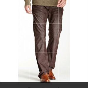 True Religion Ricky brown corduroy pants